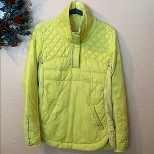 Lululemon size 8 Clarity Yellow What the Fluff run